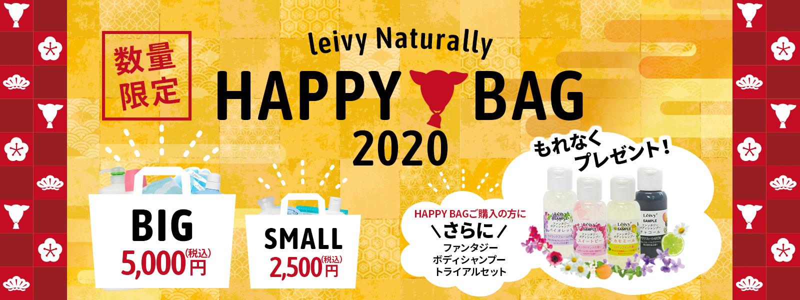 2020年レイヴィーナチュラリーの数量限定HAPPY BAG